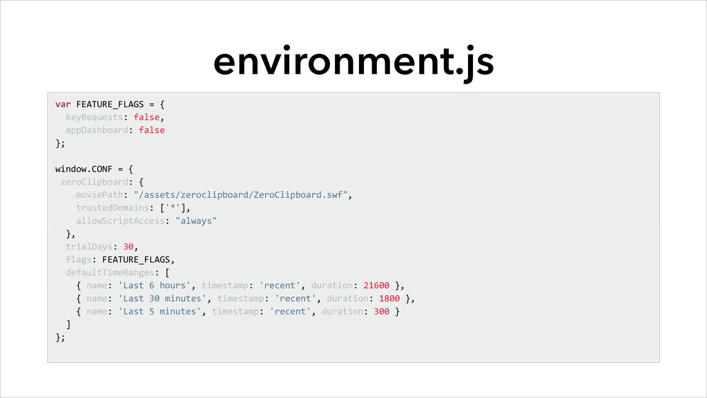 environment.js var	