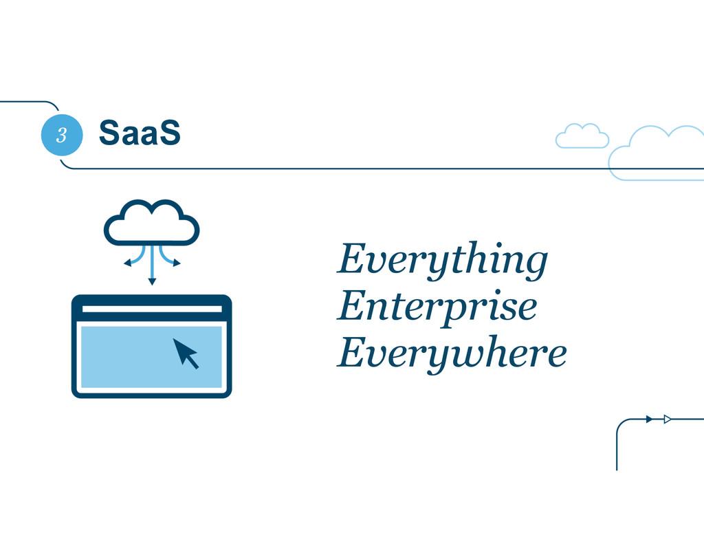 SaaS 3 Everything Enterprise Everywhere