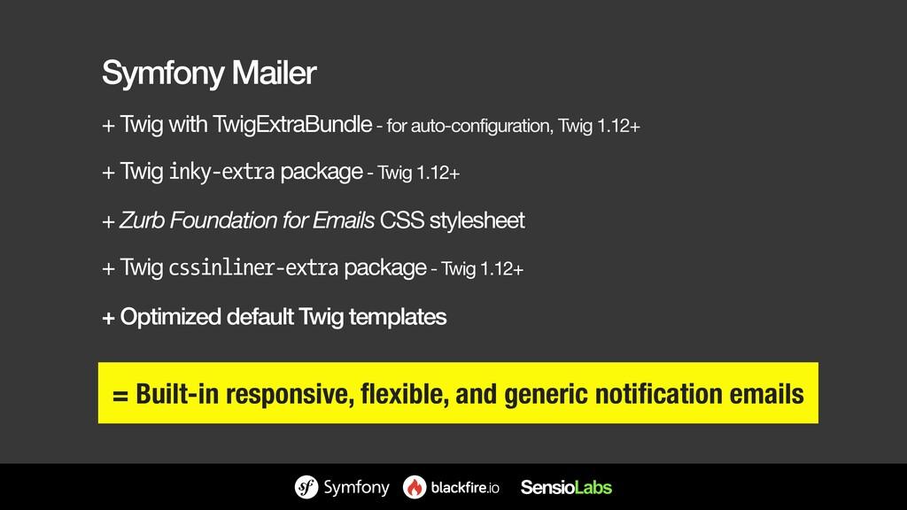 Symfony Mailer + Twig with TwigExtraBundle - fo...