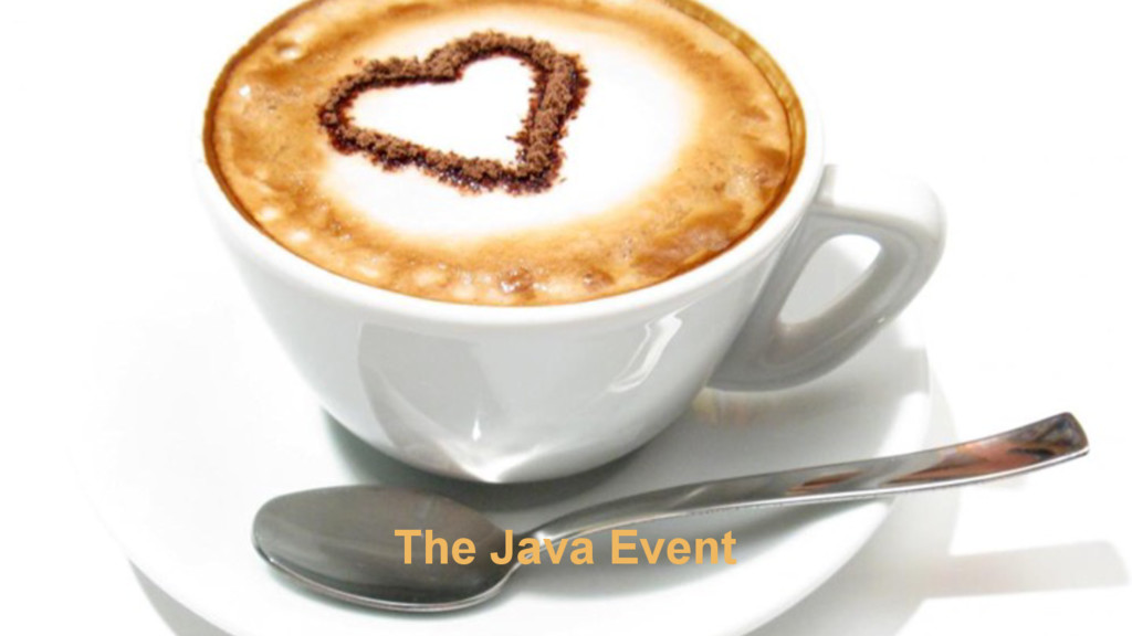 27 The Java Event