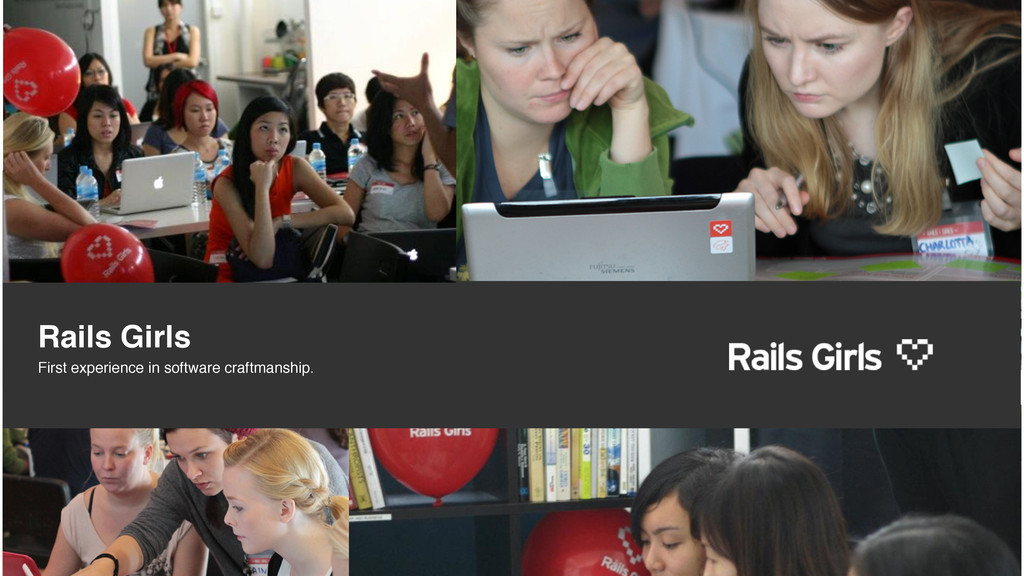 Rails Girls First experience in software craftm...