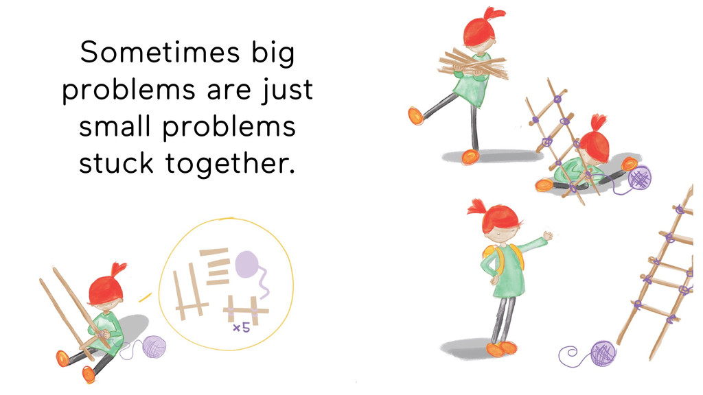 Sometimes big problems are just small problems ...