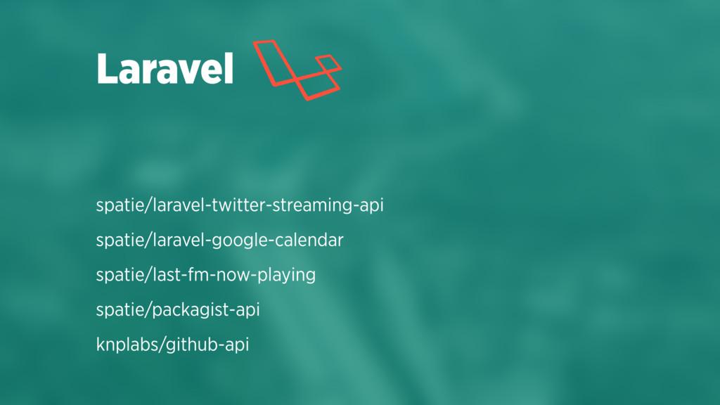 spatie/laravel-twitter-streaming-api spatie/lar...
