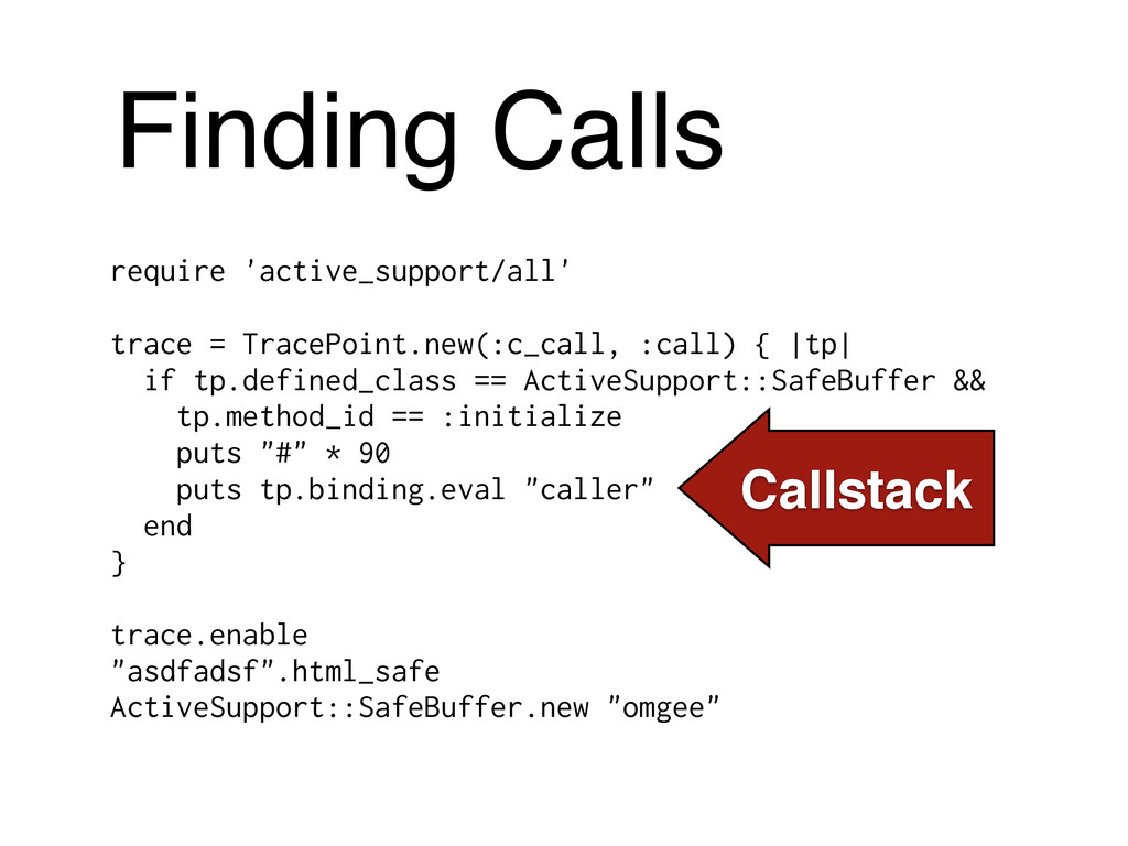 Finding Calls require 'active_support/all' ! tr...