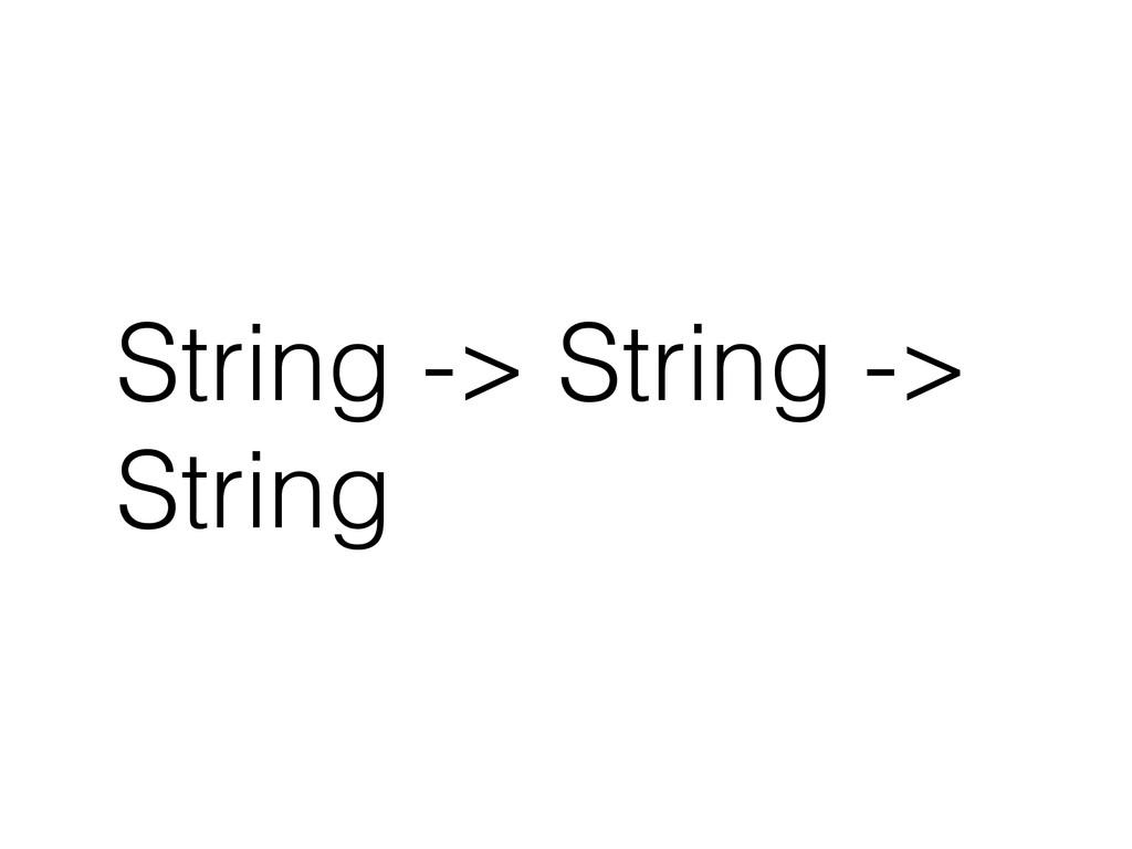 String -> String -> String