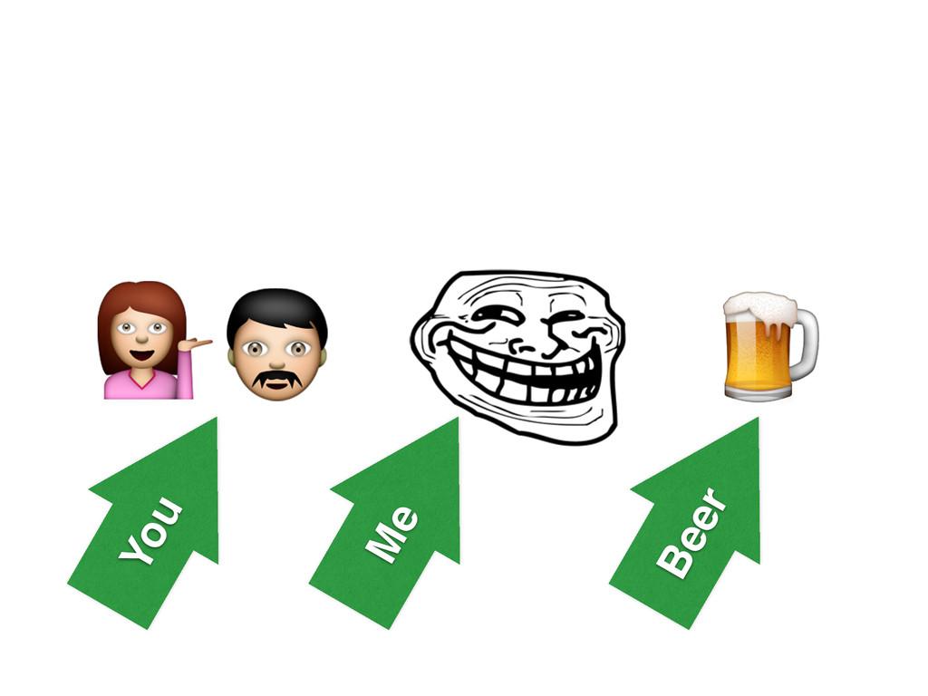 You Beer Me