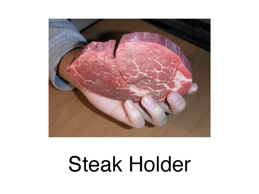 Steak Holder