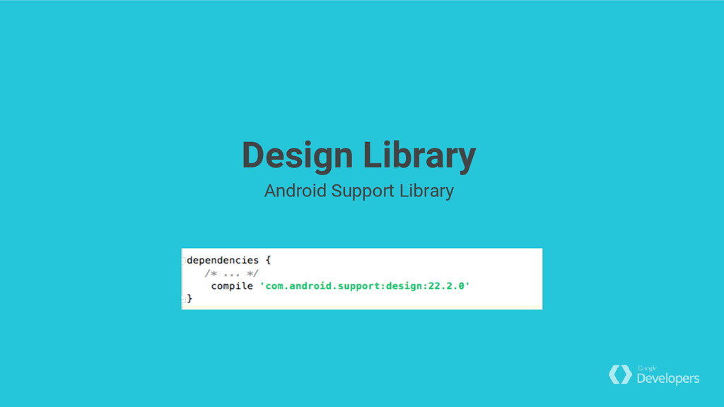 Design Library Android Support Library