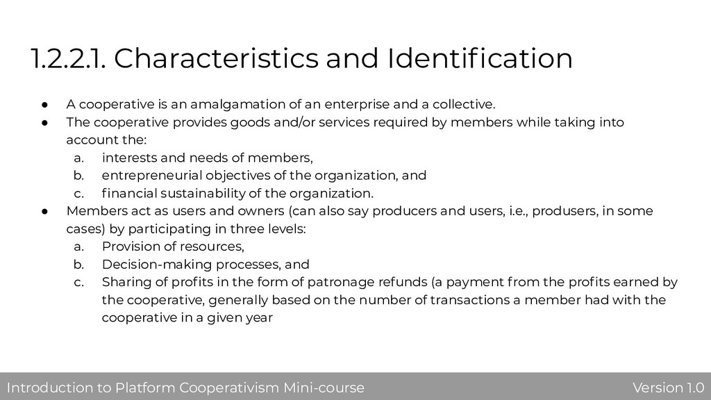 1.2.2.1. Characteristics and Identification ● A ...