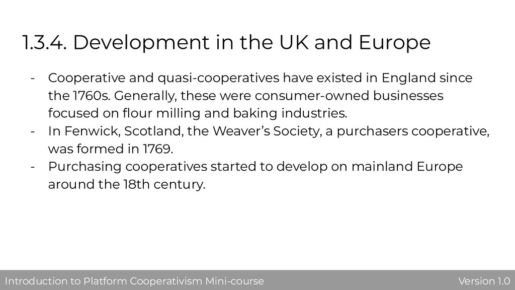 1.3.4. Development in the UK and Europe - Coope...