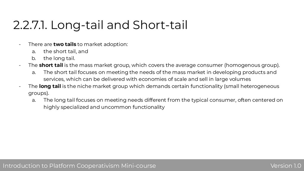 2.2.7.1. Long-tail and Short-tail - There are t...