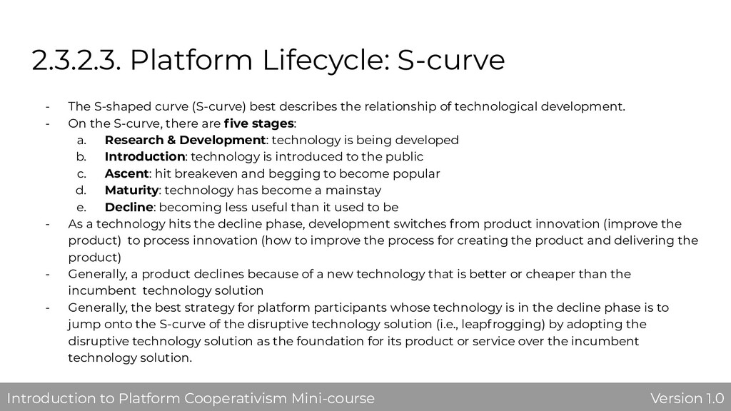 2.3.2.3. Platform Lifecycle: S-curve - The S-sh...