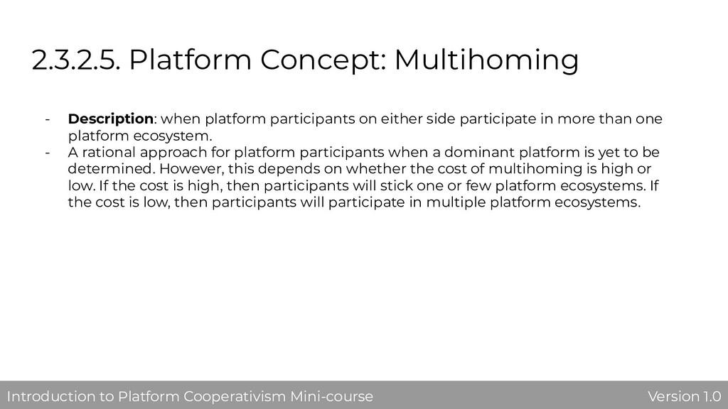 2.3.2.5. Platform Concept: Multihoming - Descri...