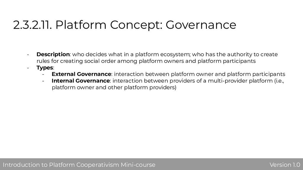 2.3.2.11. Platform Concept: Governance - Descri...
