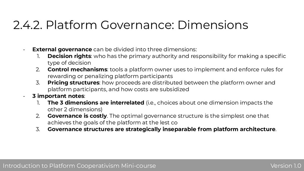 2.4.2. Platform Governance: Dimensions - Extern...