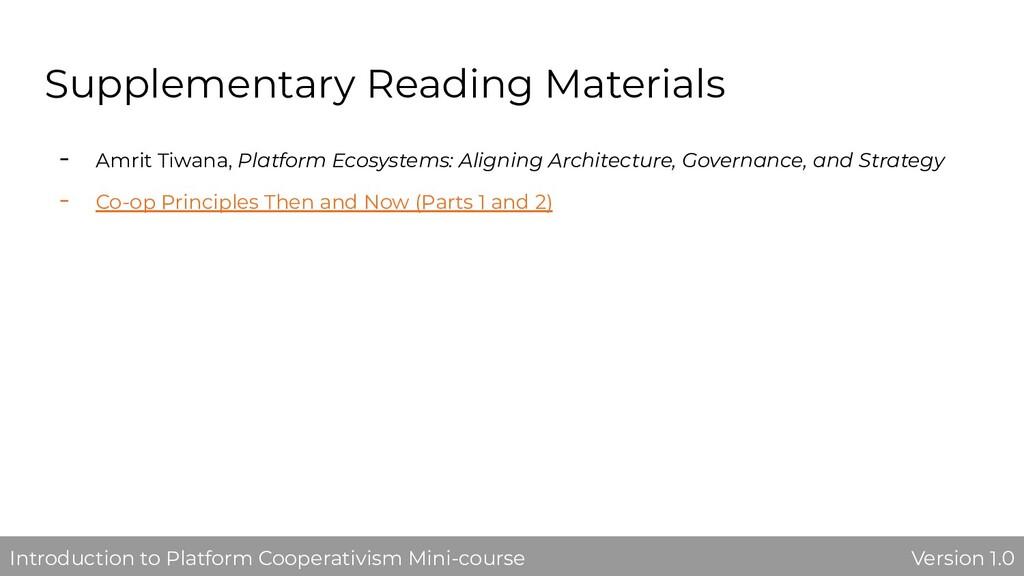 Supplementary Reading Materials - Amrit Tiwana,...