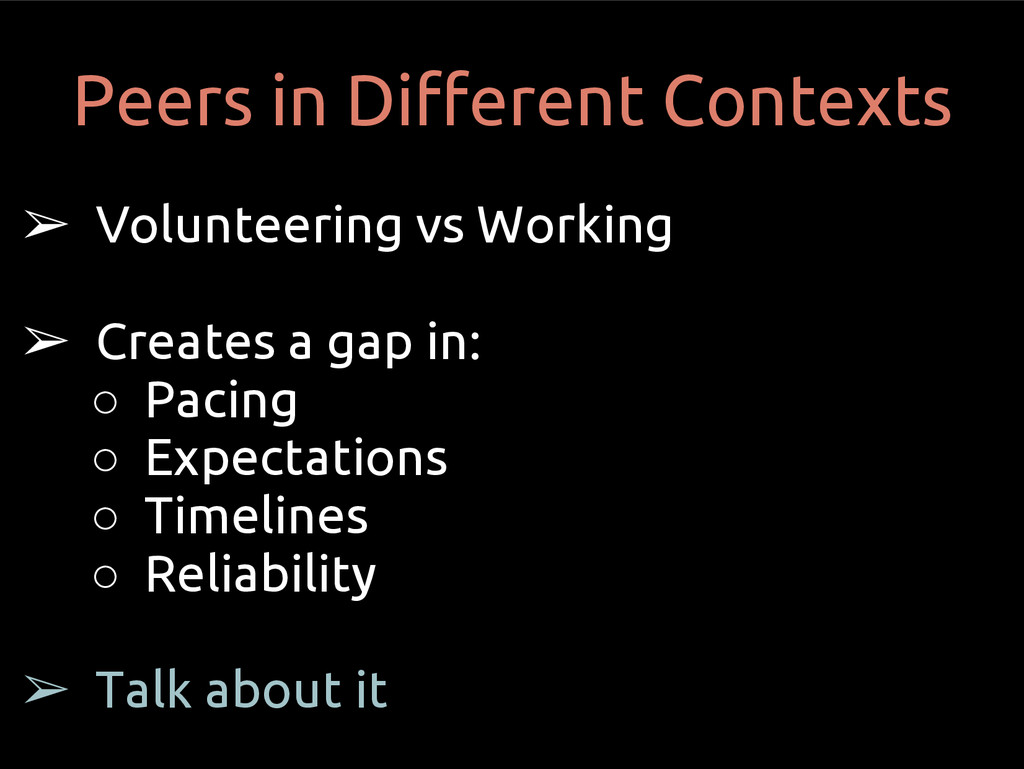 ➢ Volunteering vs Working ➢ Creates a gap in: ○...