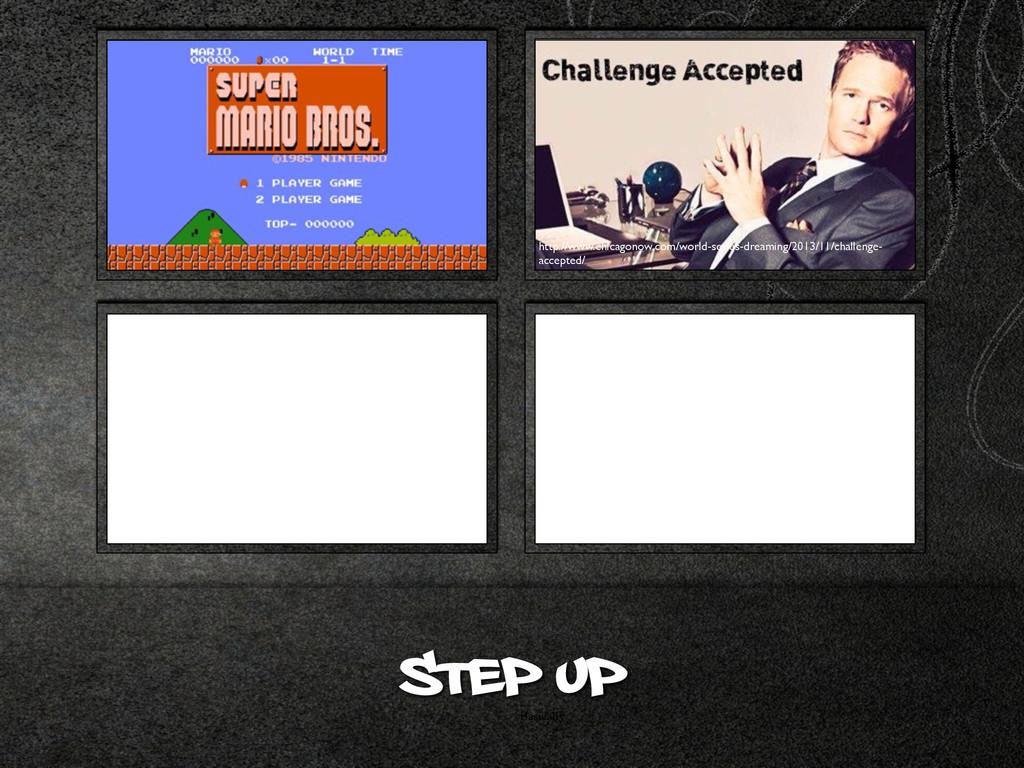 Basically Step up http://www.chicagonow.com/wor...