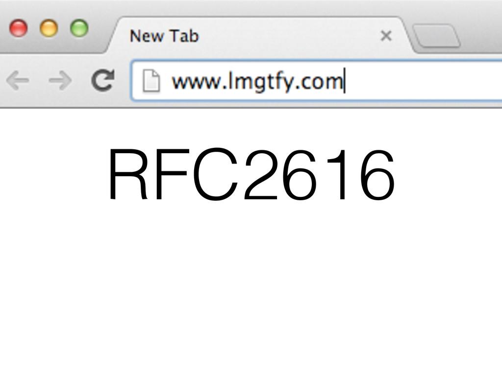 RFC2616