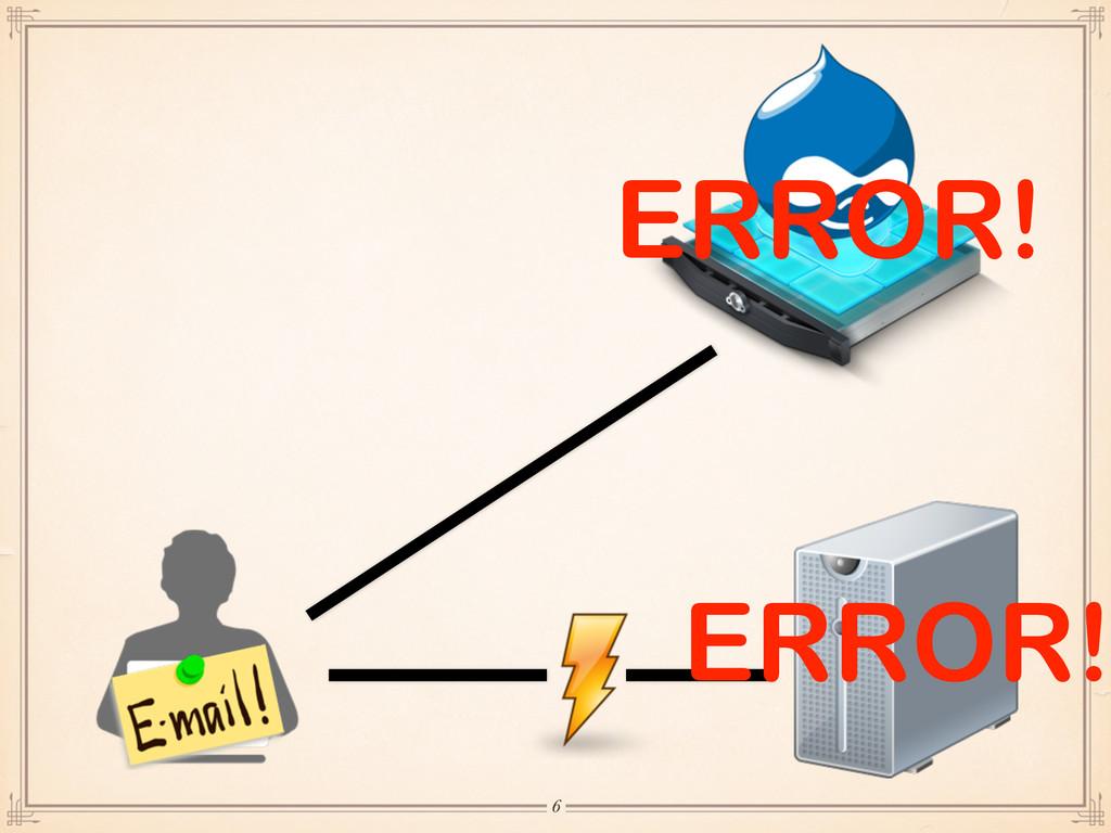 ERROR! ERROR! 6