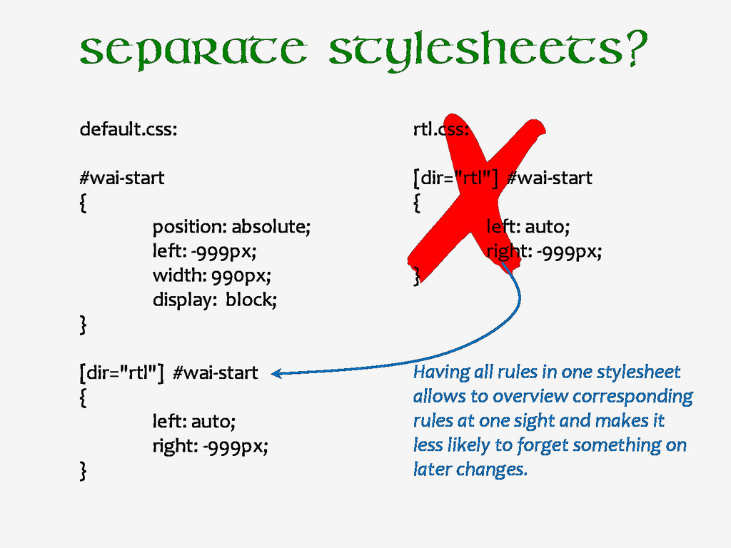"rtl.css: [dir=""rtl""] #wai-start { left: auto; r..."