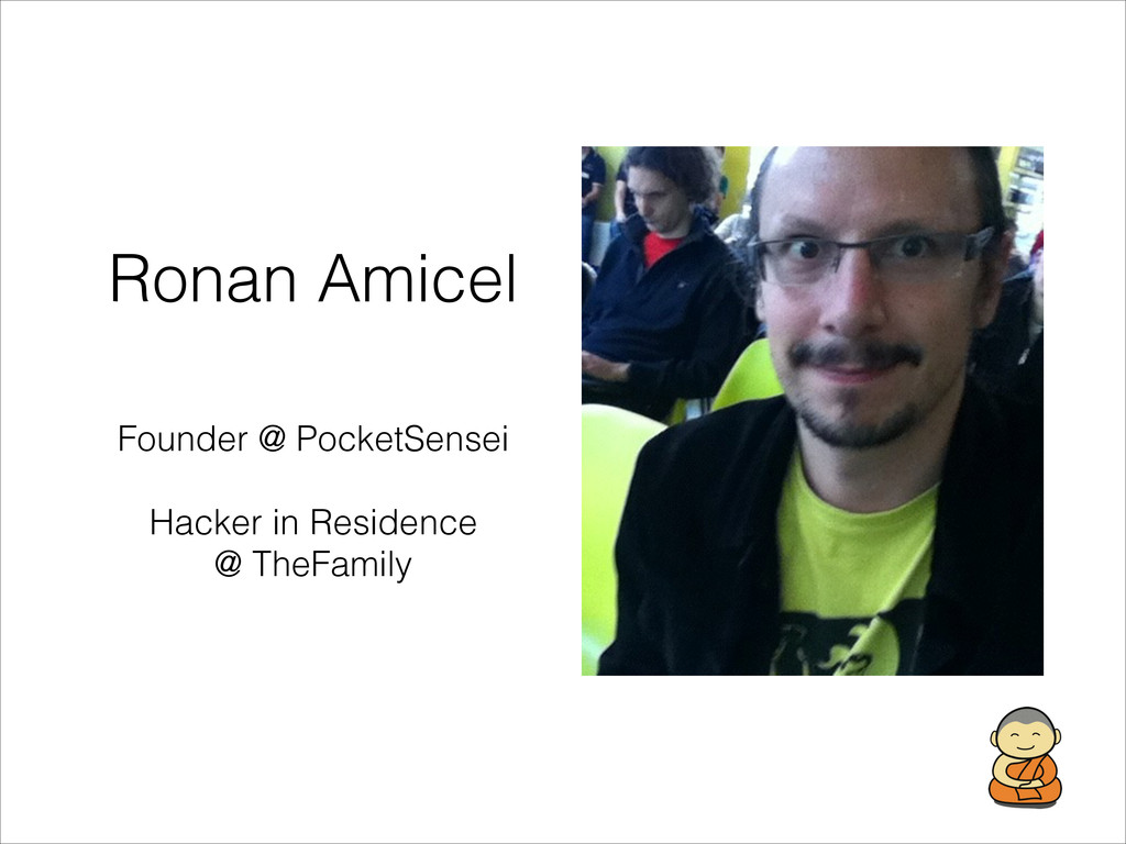 Ronan Amicel Founder @ PocketSensei ! Hacker in...