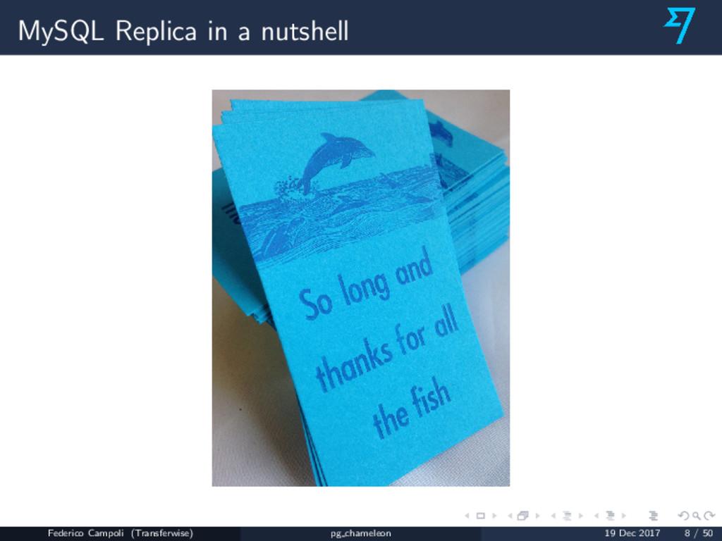 MySQL Replica in a nutshell Federico Campoli (T...