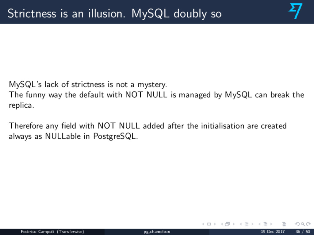Strictness is an illusion. MySQL doubly so MySQ...