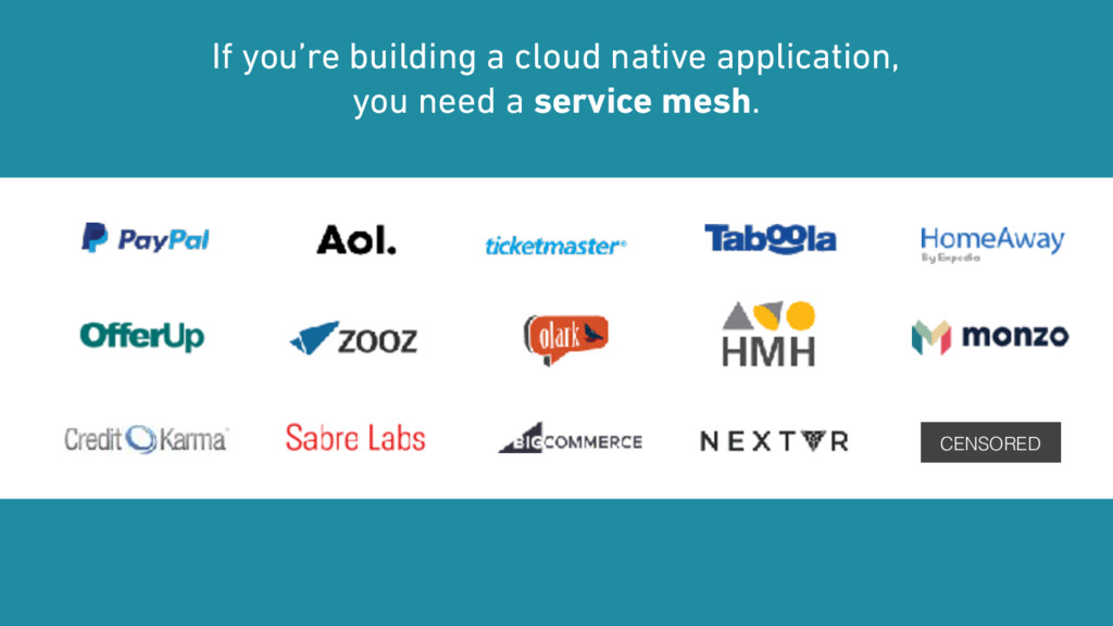 If you're building a cloud native application,...