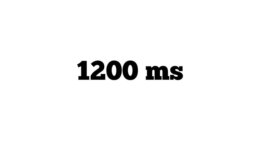 1200 ms