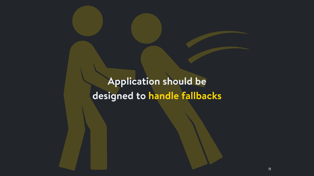 11 Application should be designed to handle fal...