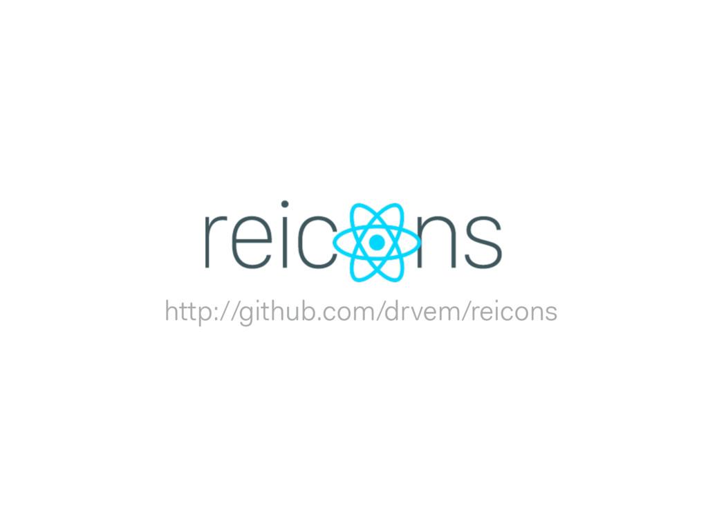 http://github.com/drvem/reicons