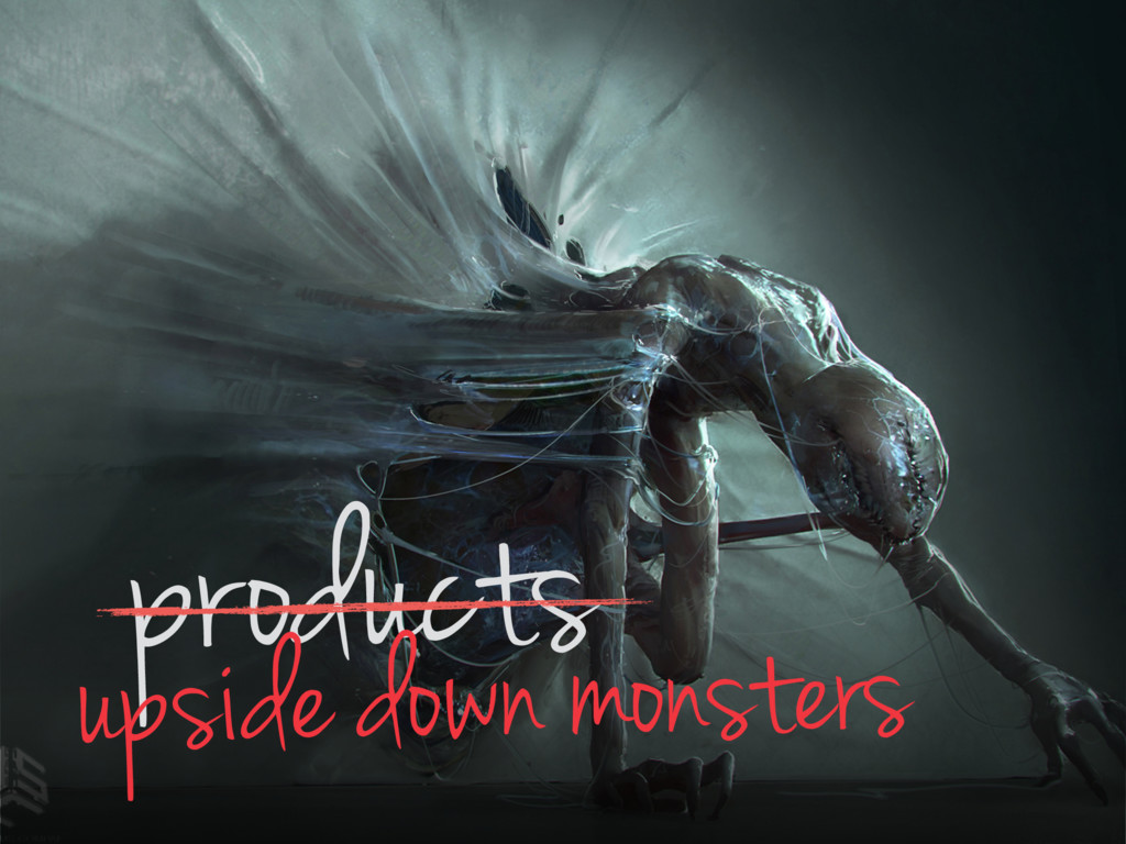 products upside down monsters