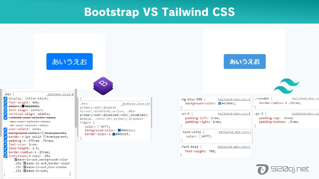 Bootstrap VS Tailwind CSS