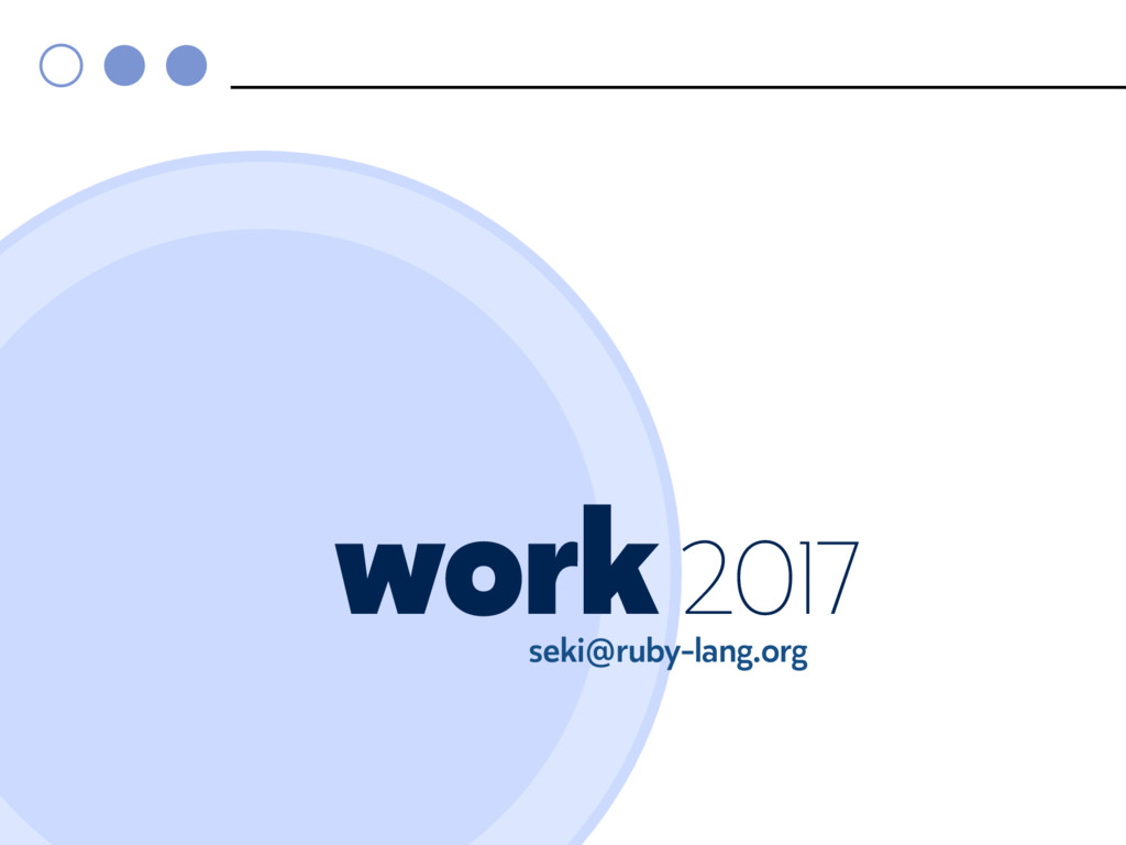 Artwork 2017 seki@ruby-lang.org