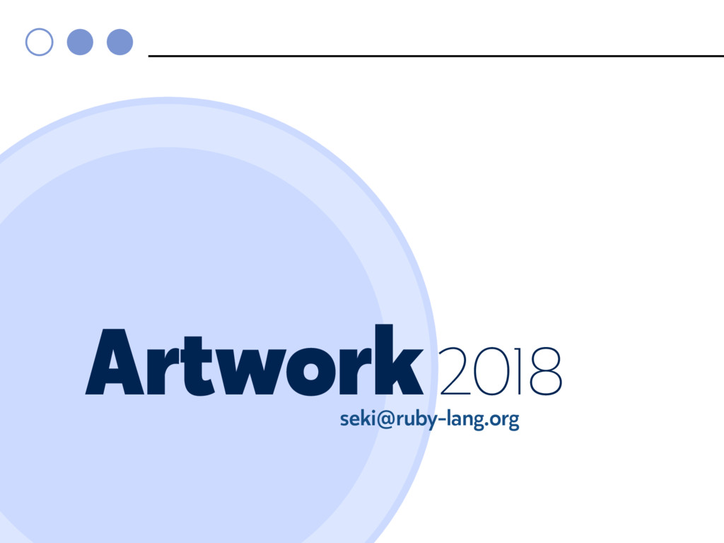 Artwork 2018 seki@ruby-lang.org
