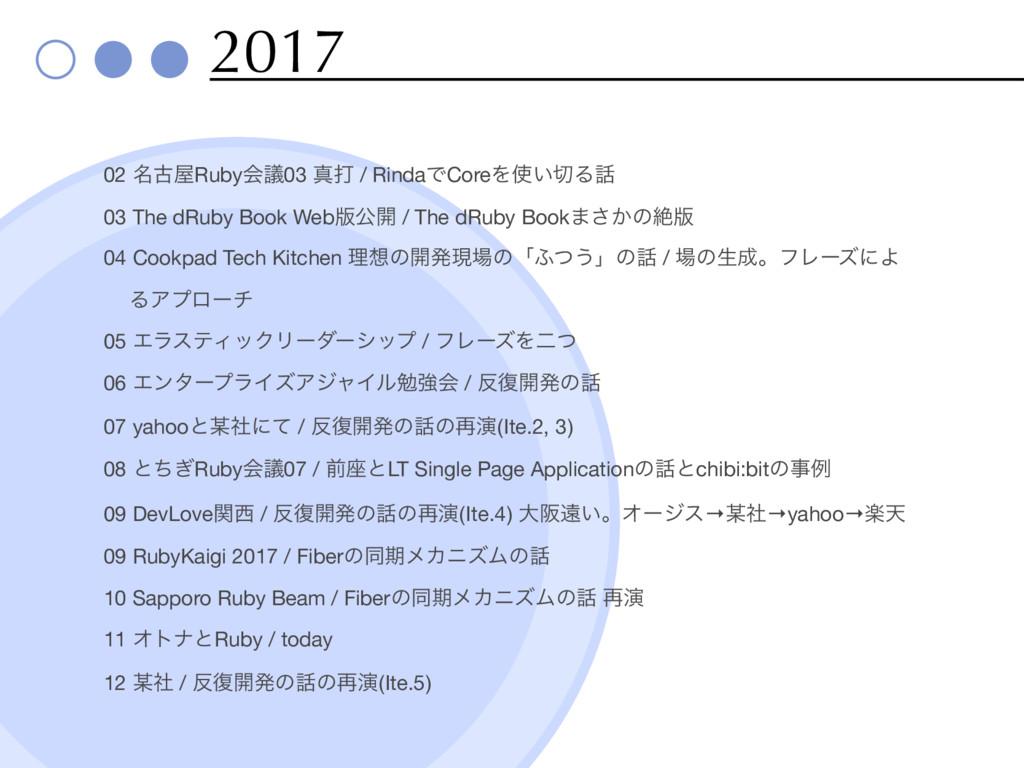 2017 02 ໊ݹRubyձٞ03 ਅଧ / RindaͰCoreΛ͍Δ  03 T...