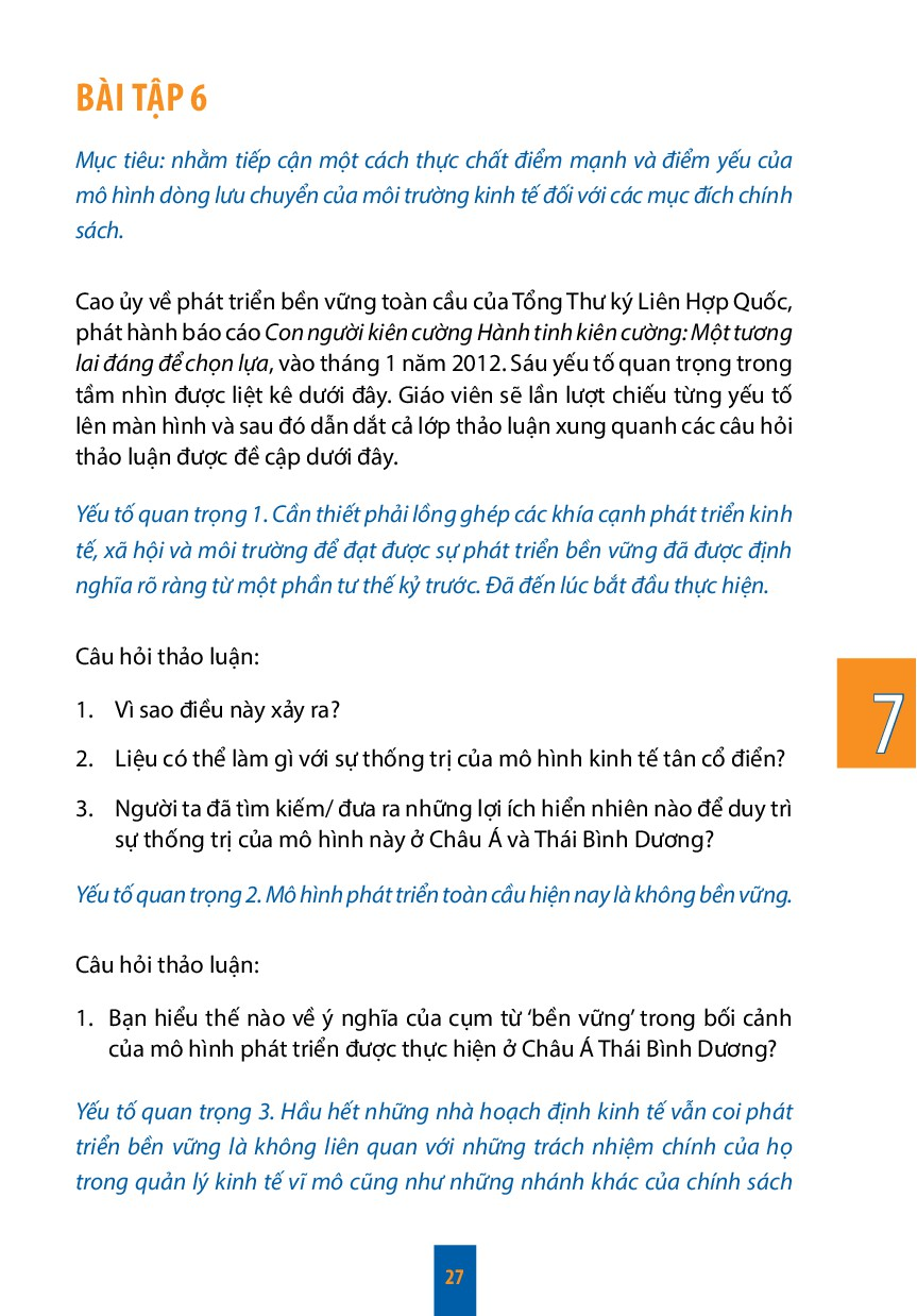 7 27 Bài tập 6 Mục tiêu: nhằm tiếp cận một cách...