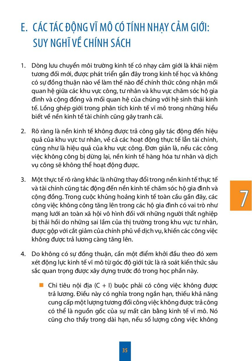 7 35 E.CÁC TÁC ĐỘNG VĨ MÔ CÓ TÍNH NHẠY CẢM GIỚ...