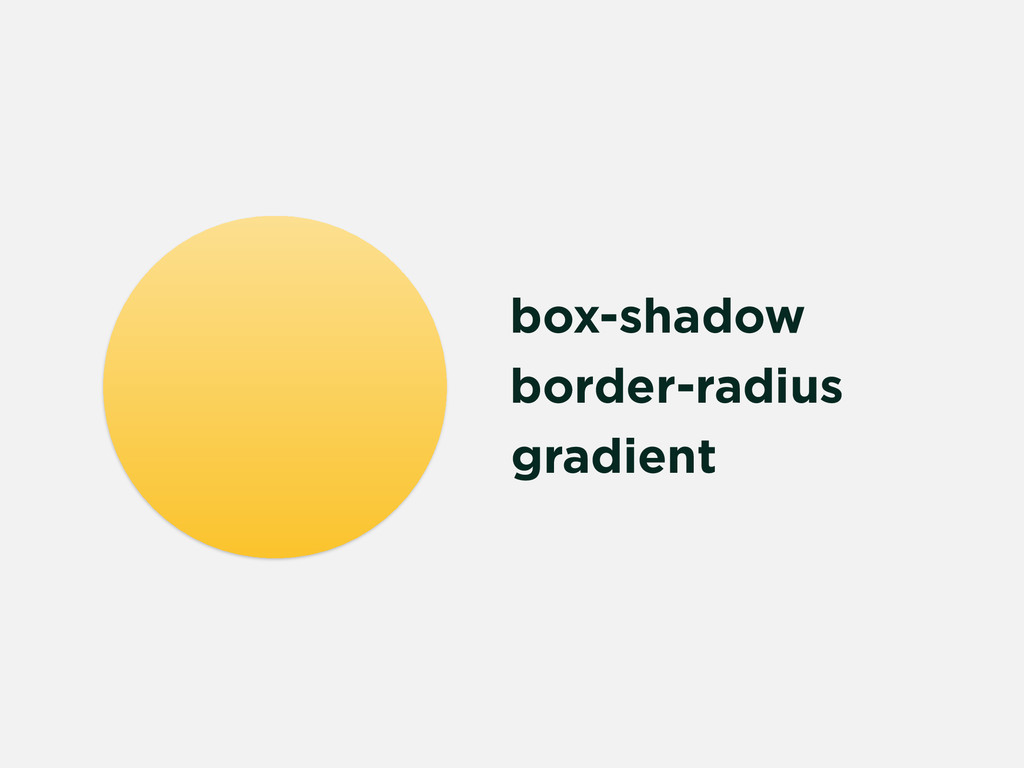 box-shadow border-radius gradient