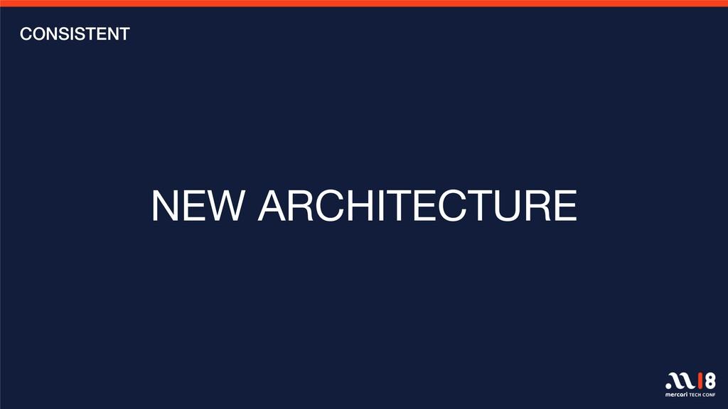 CONSISTENT NEW ARCHITECTURE