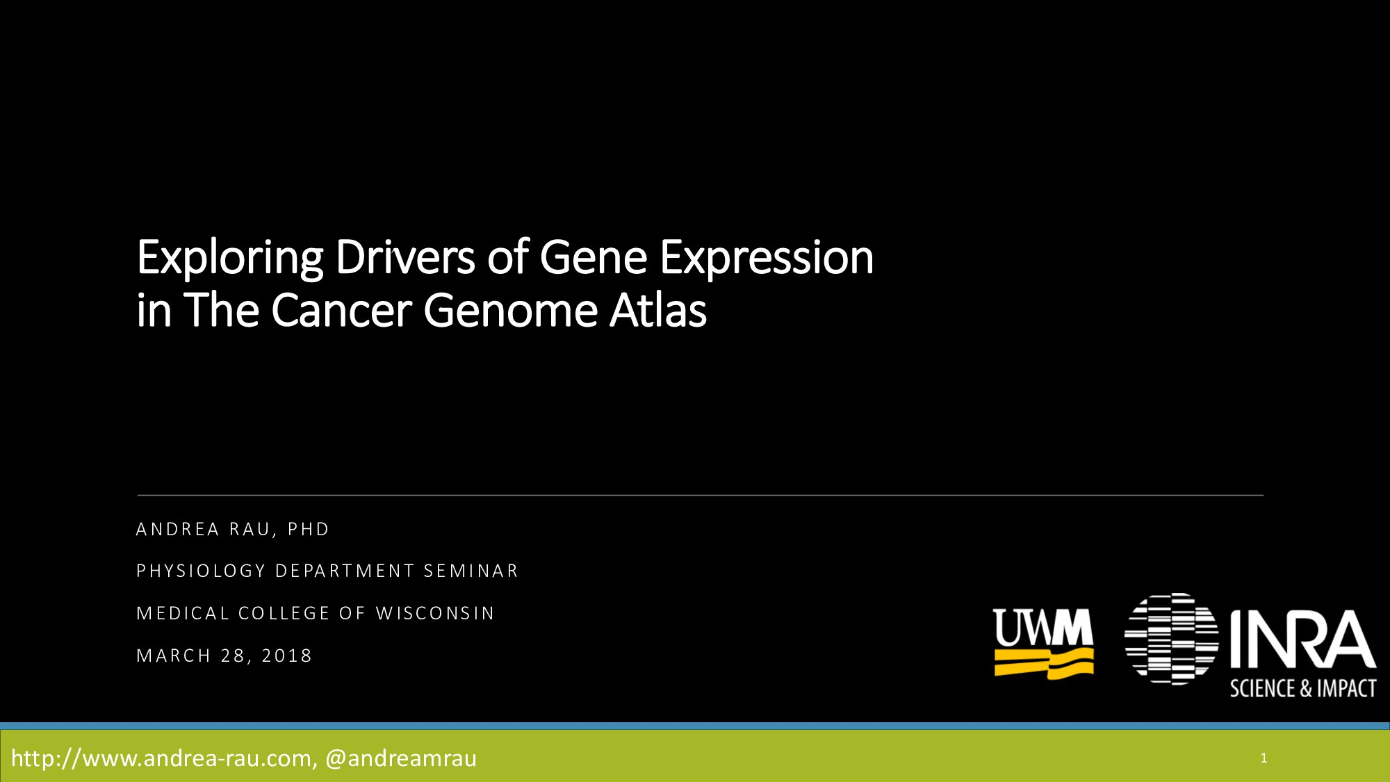 Exploring Drivers of Gene Expression in The Can...