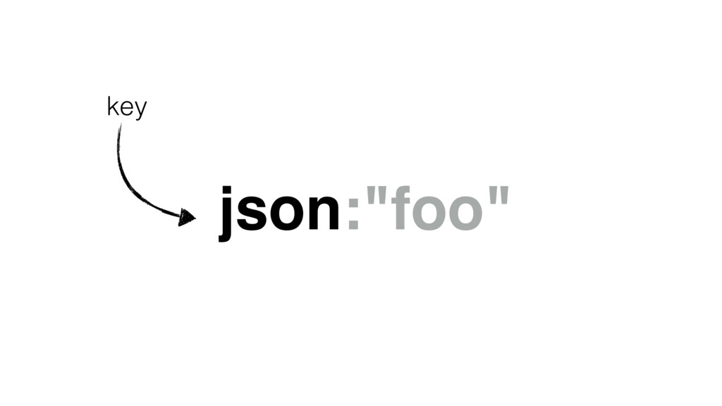 "json:""foo"" key"