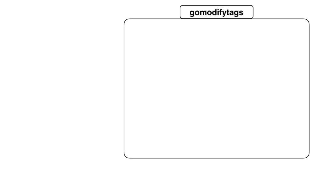 gomodifytags