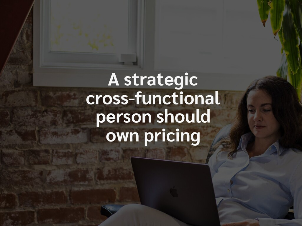 A strategic  cross-functional  person should ...