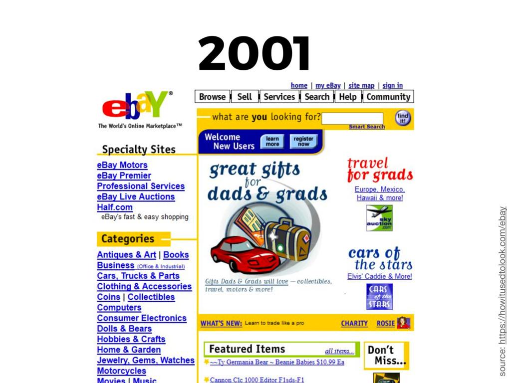 2001 source: https://howitusedtolook.com/ebay