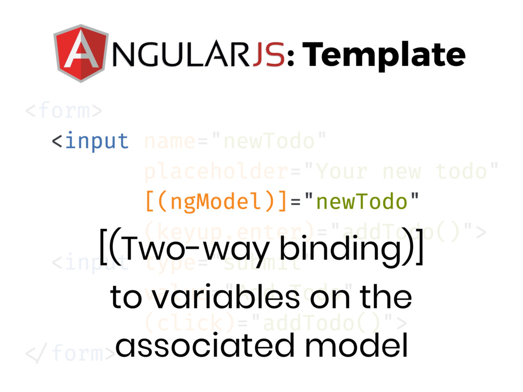 [(Two-way binding)] to variables on the associ...