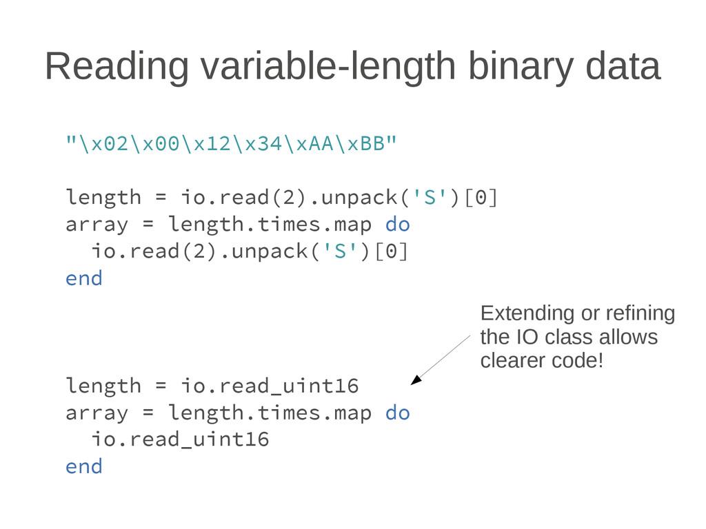 "Reading variable-length binary data ""\x02\x00\x..."