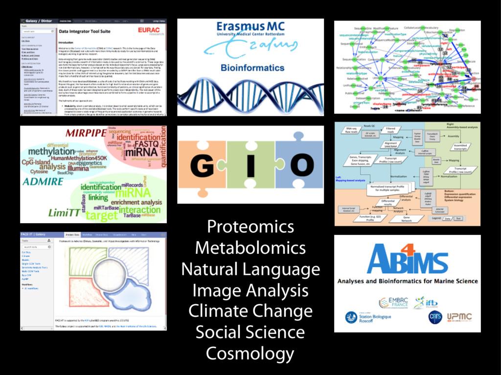 Proteomics Metabolomics Natural Language Image ...