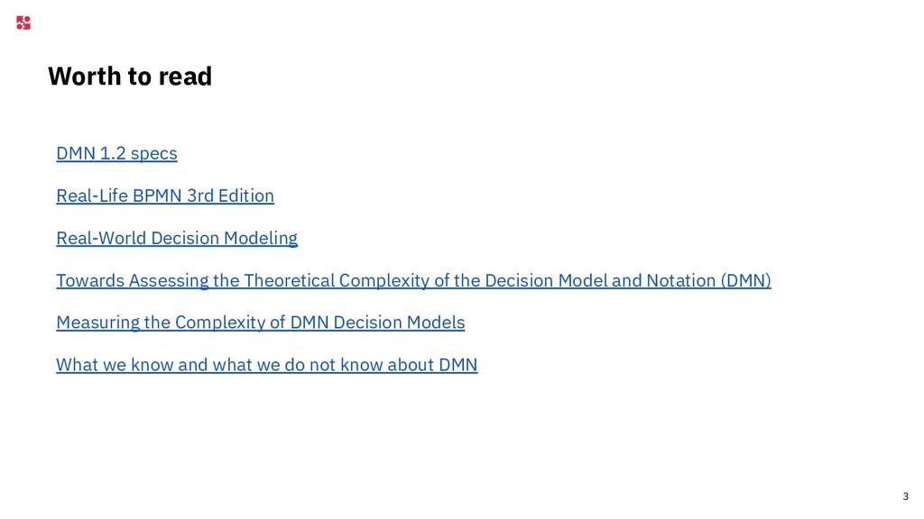 Worth to read DMN 1.2 specs Real-Life BPMN 3rd ...